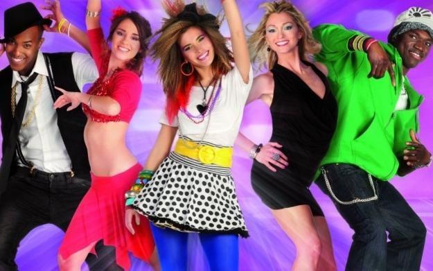 Let's Dance with Mel B - motyw graficzny /Informacja prasowa