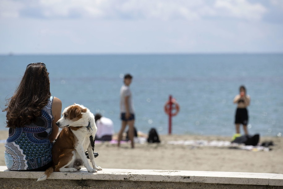 Letni dzień w Ostii /MASSIMO PERCOSSI /PAP/EPA