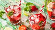 Letnia lemoniada truskawkowa