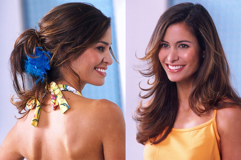 Letnie fryzury powinny być lekkie i swobodne. Na urlopie możesz sobie pozwolić na kwiatowe ozdoby i kolorowe chustki we włosach /© Bauer