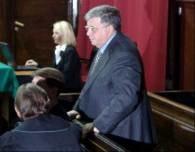 Lew Rywi na sali sądowej /RMF