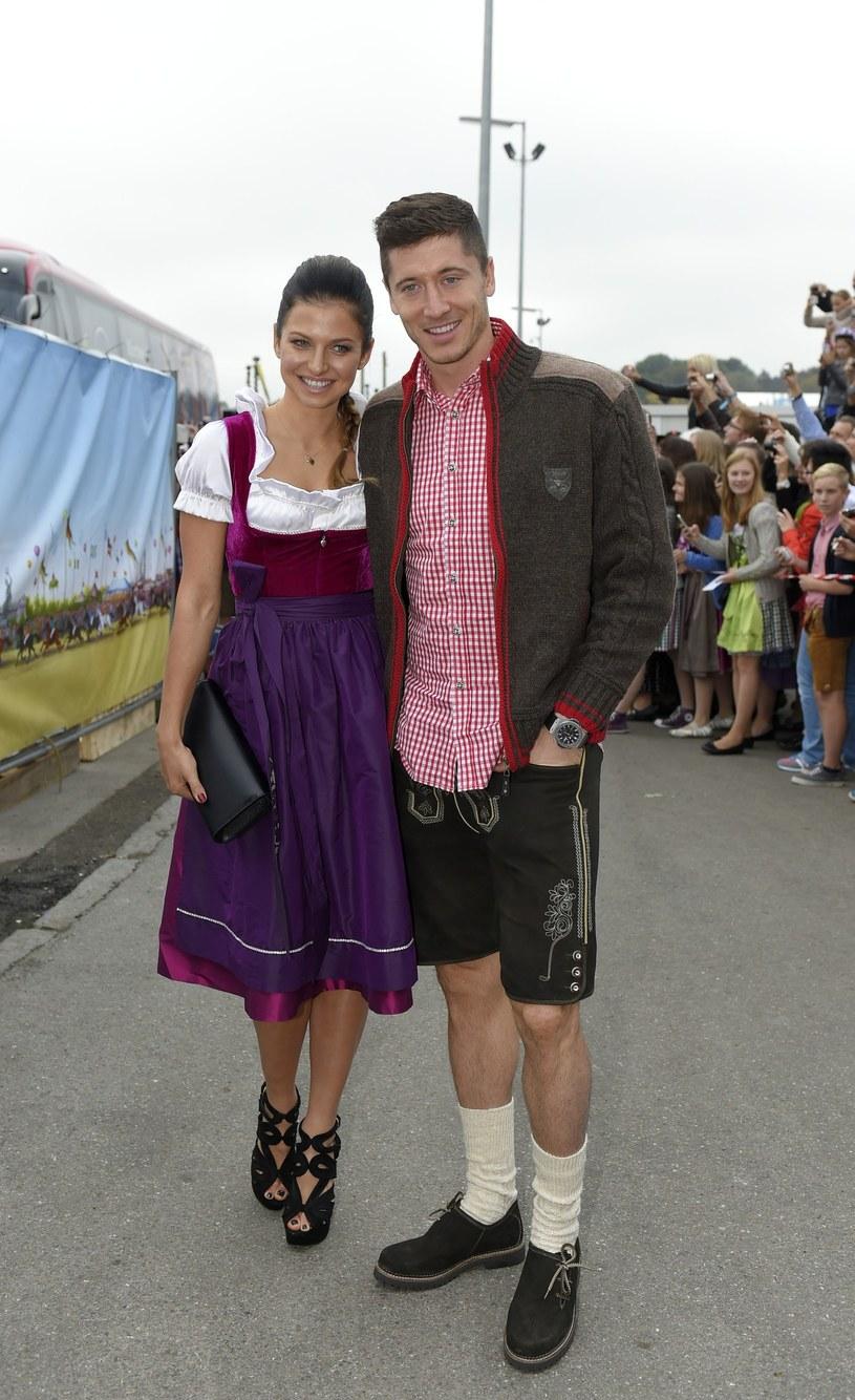 Lewandowscy świetnie czują się w Bawarii! /- /East News