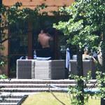 Lewandowscy z Klarą wypoczywają w swoim domu na Mazurach!