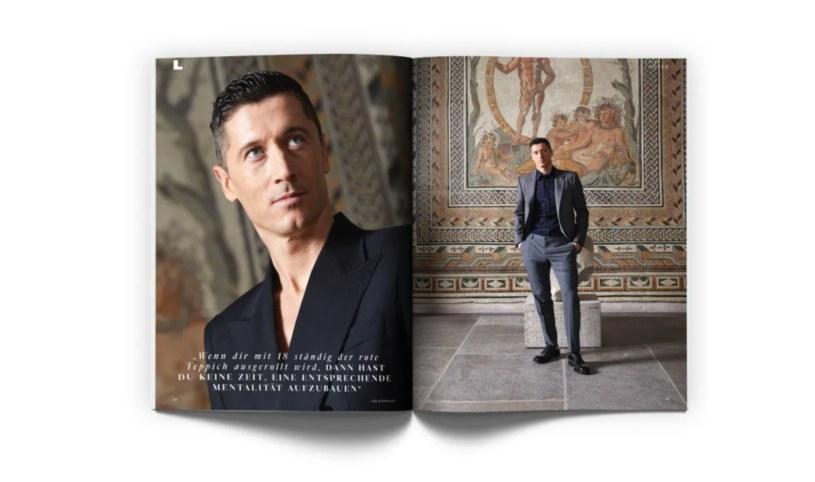 Lewandowski bohaterem magazynu GQ /