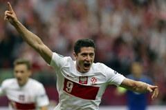 Lewandowski przechodzi do historii. Strzelił pierwszego gola na Euro 2012