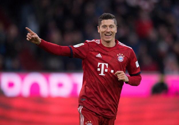Lewandowski strzelił w ostatnim mecz dwa gole /Daniel Kopatsch /PAP/EPA