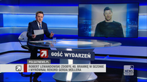 """Lewandowski w """"Gościu Wydarzeń"""": Rekordy są po to, żeby je próbować pobijać"""