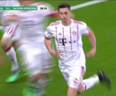 Lewandowski z dwiema bramkami. Bayer - Bayern 2-6. Wideo