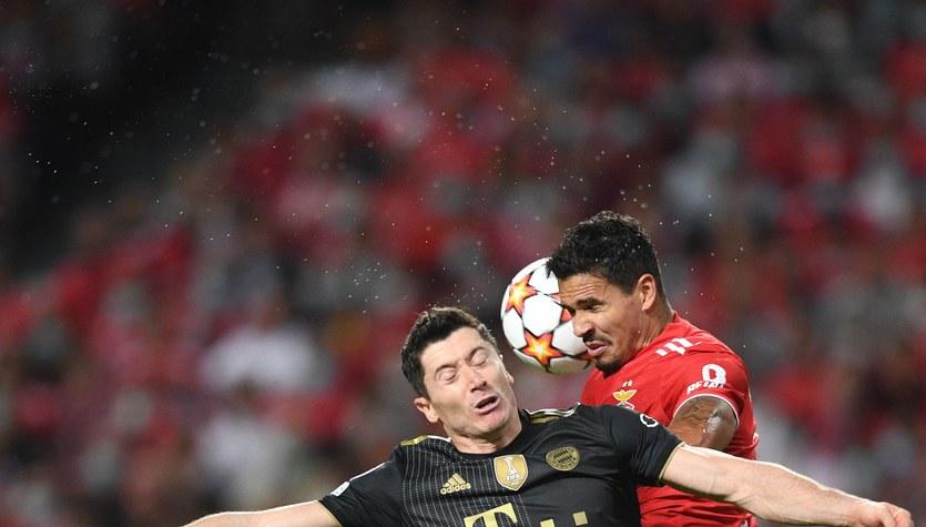Lewandowski znów trafia w LM. Kanonada Bayernu