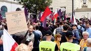 Lewica demonstrowała przeciwko zmianom w sądownictwie