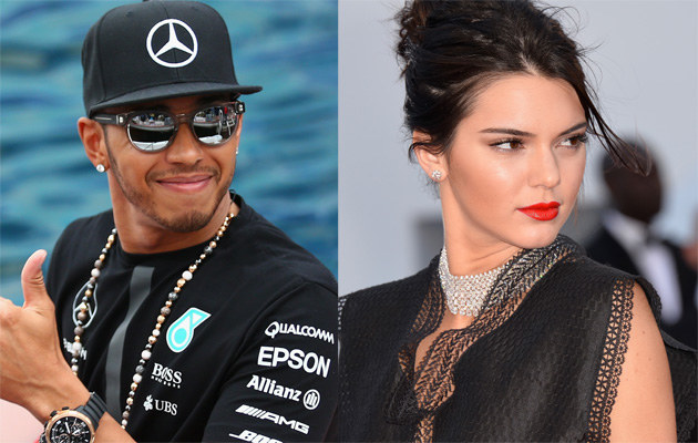 Lewis Hamilton i Kendall Jenner mają się ku sobie! /Paul Gilham, Pascal Le Segretain /Getty Images