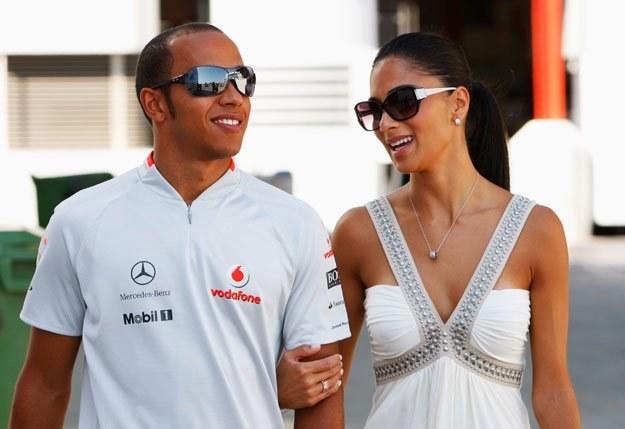 Lewis Hamilton i Nicole Scherzinger fot. Mark Thompson /Getty Images/Flash Press Media
