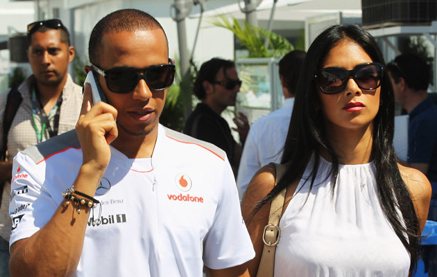 Lewis Hamilton i Nicole Scherzinger nie są już parą /Mark Thompson /Getty Images