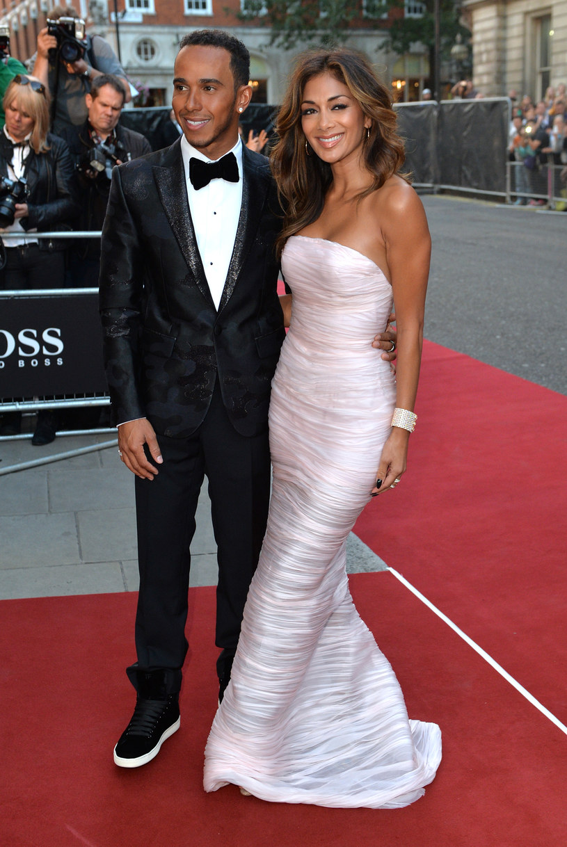 Lewis Hamilton i Nicole Scherzinger /Anthony Harvey /Getty Images