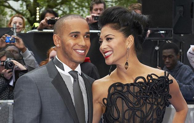 Lewis Hamilton i Nicole Scherzinger /Adam Jacobs /Getty Images