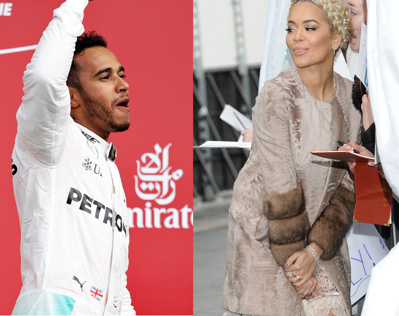 Lewis Hamilton i Rita Ora spędzili razem noc! /Mark Thompson, Stuart C. Wilson /Getty Images