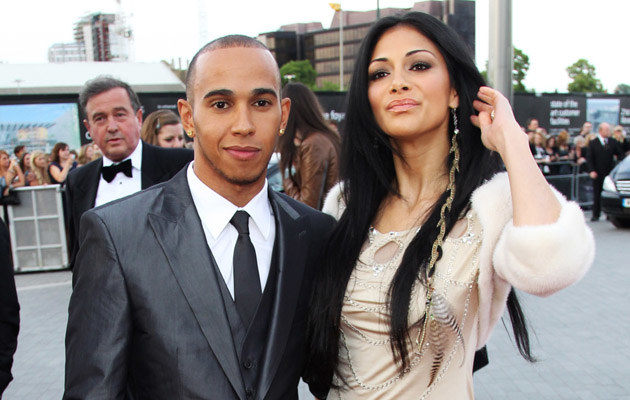 Lewis Hamilton, Nicole Scherzinger, fot.Dave Hogan   /Getty Images/Flash Press Media