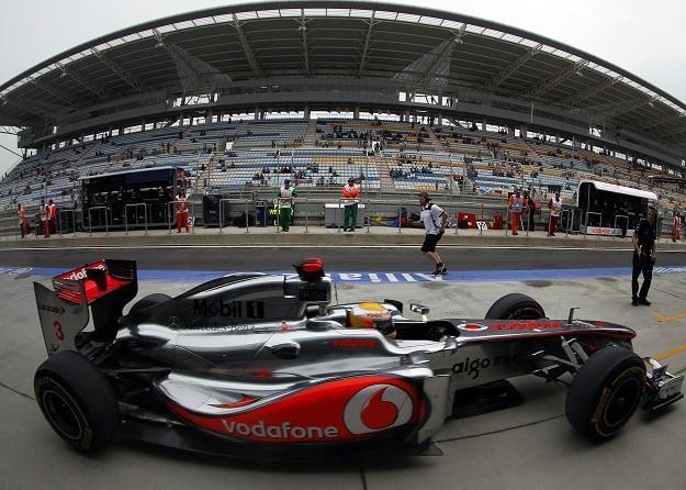 Lewis Hamilton w bolidzie McLaren-Mercedes /AFP