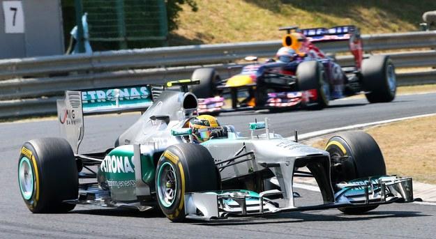 Lewis Hamilton z teamu Mercedes wygrał wyścig Formuły 1 o Grand Prix Węgier. /SRDJAN SUKI /PAP/EPA