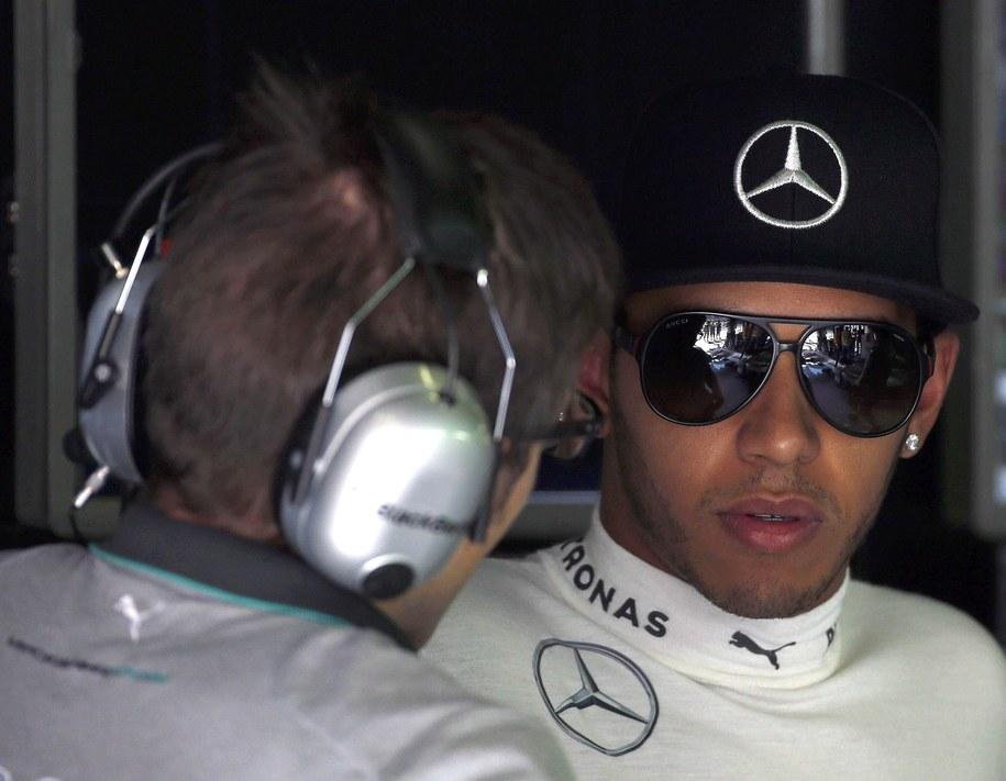 Lewis Hamilton z teamu Mercedesa /ALBERTO ESTEVEZ /PAP/EPA