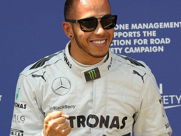 Lewis Hamilton /PETER STEFFEN /PAP/EPA