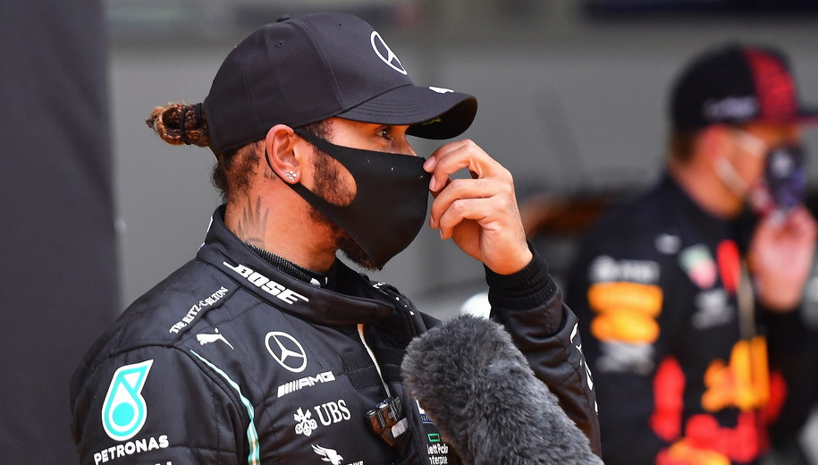 Lewis Hamilton /JOE KLAMAR / FIA/F1 /PAP/EPA