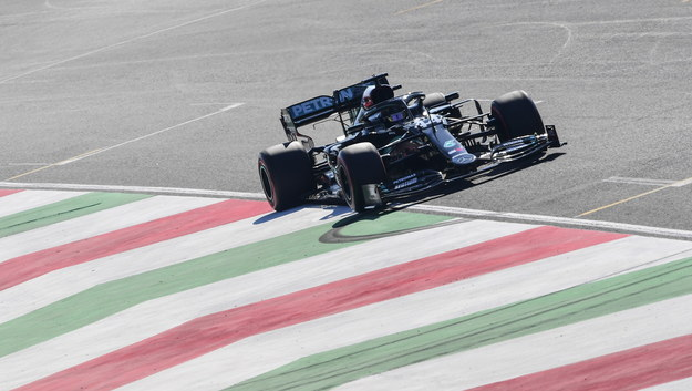 Lewis Hamilton /Claudio Giovannini / Pool /PAP/EPA