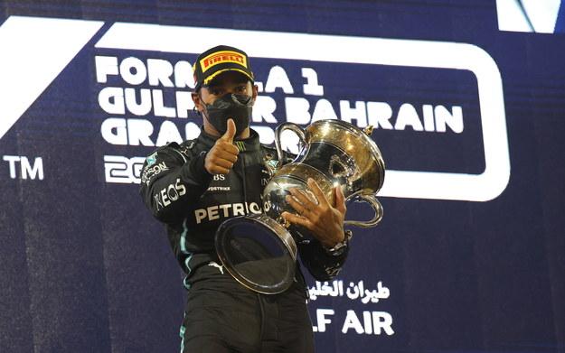 Lewis Hamilton /VALDRIN XHEMAJ    /PAP