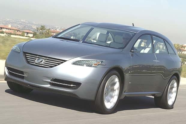 Lexus HPX (kliknij) /INTERIA.PL