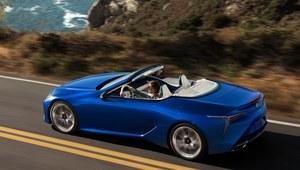 Lexus LC 500 Convertible zaprezentowany