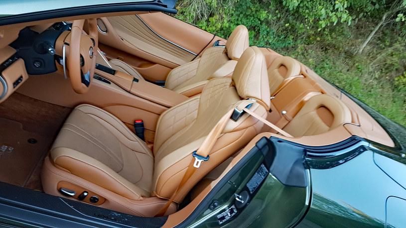 Lexus LC 500 Convertible /INTERIA.PL