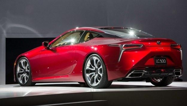 Lexus LC 500 /AFP