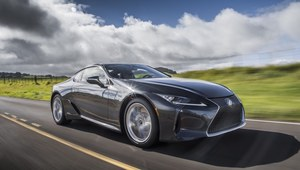 Lexus LC po symbolicznym face liftingu