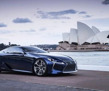 Lexus LF-LC - wizja futurystycznego coupe