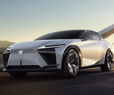 Lexus LF-Z Electrified - elektryzująca przyszłość. Dosłownie