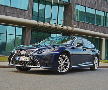 Lexus LS 500 - inny wymiar luksusu
