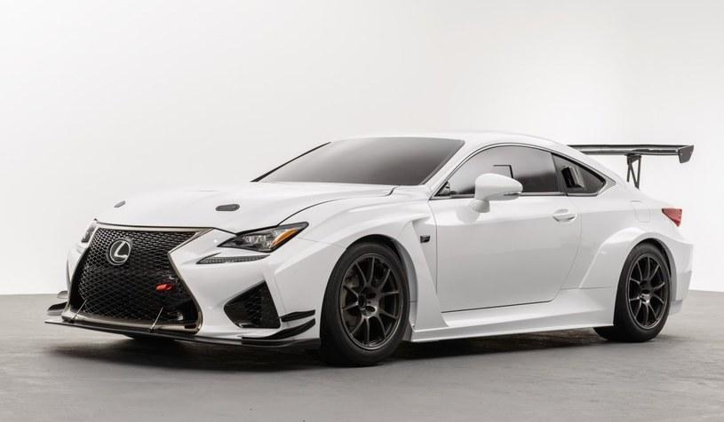 Lexus RC F w wersji wyścigowej /