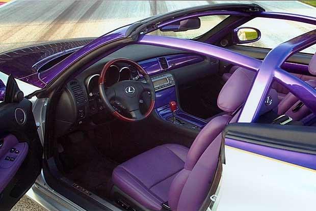 "Lexus SC430 ""pace-car"" (kliknij) /INTERIA.PL"