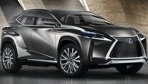 LF-NX - zapowiedź nowego crossovera Lexusa