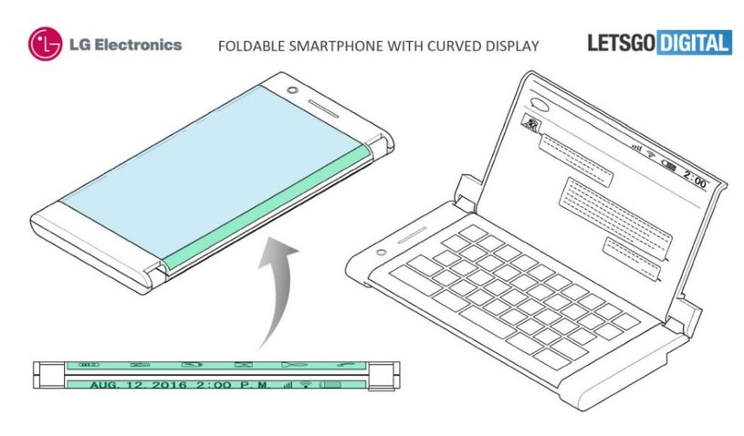 LG dołączy do grona producentów, którzy będą mieli w ofercie składany smartfon? /LetsGoDigital /materiał zewnętrzny