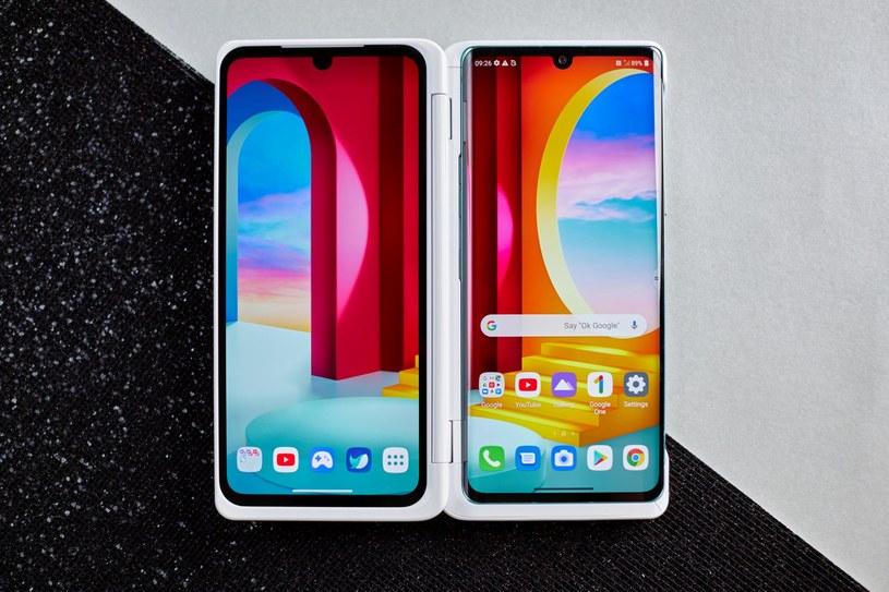 LG Dual Screen /materiały prasowe