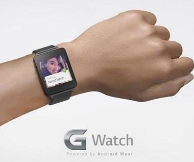 LG G Watch z Android Wear - pierwsze zdjęcie