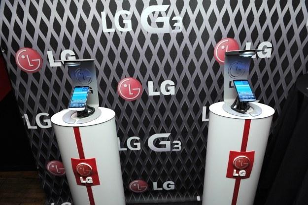 LG G3 był pierwszym globalnie dostępnym smartfonem z ekranem 2K /AFP