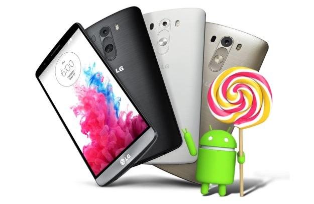 LG G3 z aktualizacją do Androida 5.0 /materiały prasowe