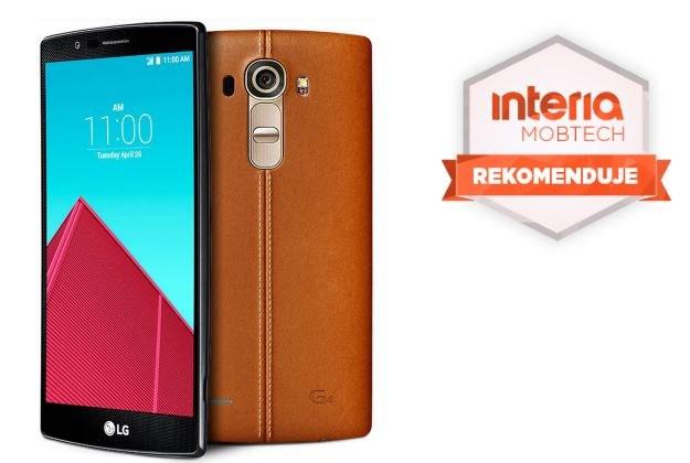 LG G4 otrzymał od serwisu Nowe Technologie Interia rekomendację /INTERIA.PL