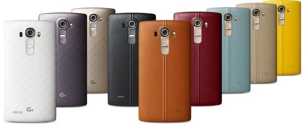 LG G4 - skóra najwyższej jakości z tyłu smartfonu i kilka wersji kolorystycznych /materiały prasowe