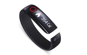 LG Lifeband Touch i LG Heart Rate Earphones - nowości dla aktywnych