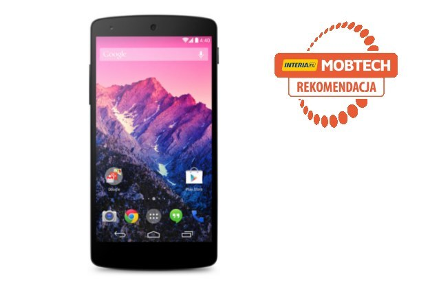 LG Nexus 5 - smartfon otrzymuje rekomendację serwisu Mobtech.interia.pl /INTERIA.PL