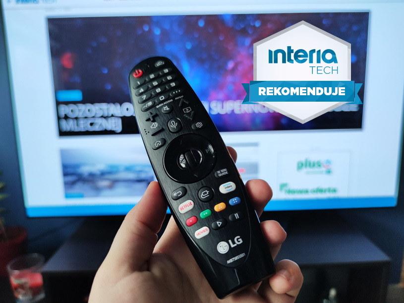 LG OLED 55BX otrzymuje REKOMENDACJĘ serwisu Interia Tech /INTERIA.PL