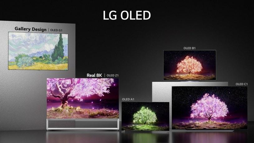 LG OLED - oferta 2021 /materiały prasowe
